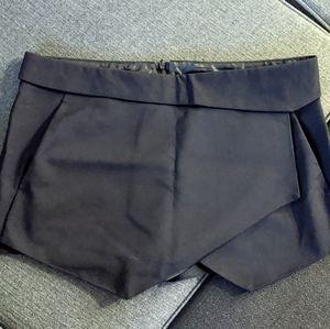 Zara criss-cross skirt with shorts